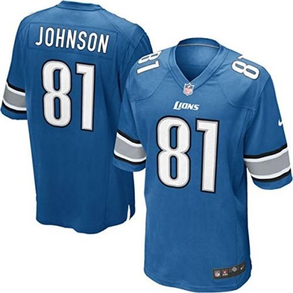 Authentic NFL Nike Lions Calvin Johnson Jersey